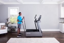 LIFE FITNESS FS4 Elliptical Cross Trainer with DX Console at FitKit UK