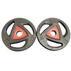 ZIVA Rubber Olympic Weight Plates FROM at FitKit UK