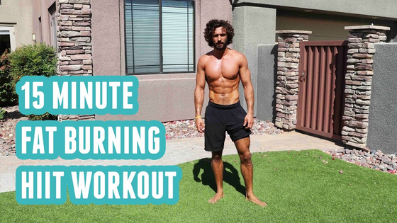 The Bodycoach 15 minute fat burning HIIT workout