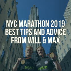 NYC Marathon best tips and advice from Will and Max