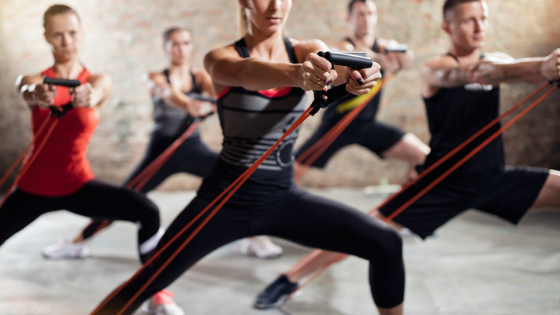 Resistance tube is a perfect Christmas gift for fitness lovers