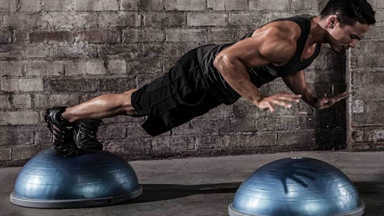 Bosu Ball is a perfect Christmas gift for fitness lovers