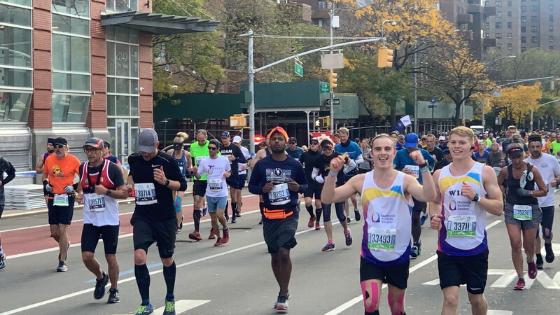 New York City Marathon - best tips and advice from Will & Max