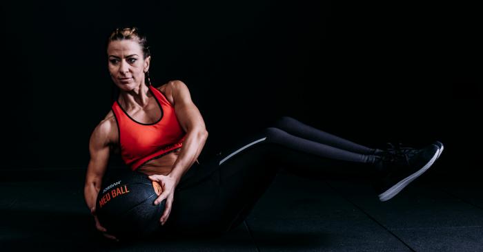 Jordan Fitness Medicine ball