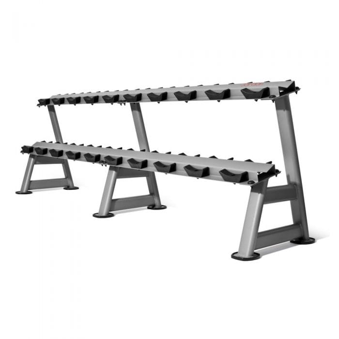 Jordan Fitness 10 pair Horizontal Dumbbell Racks