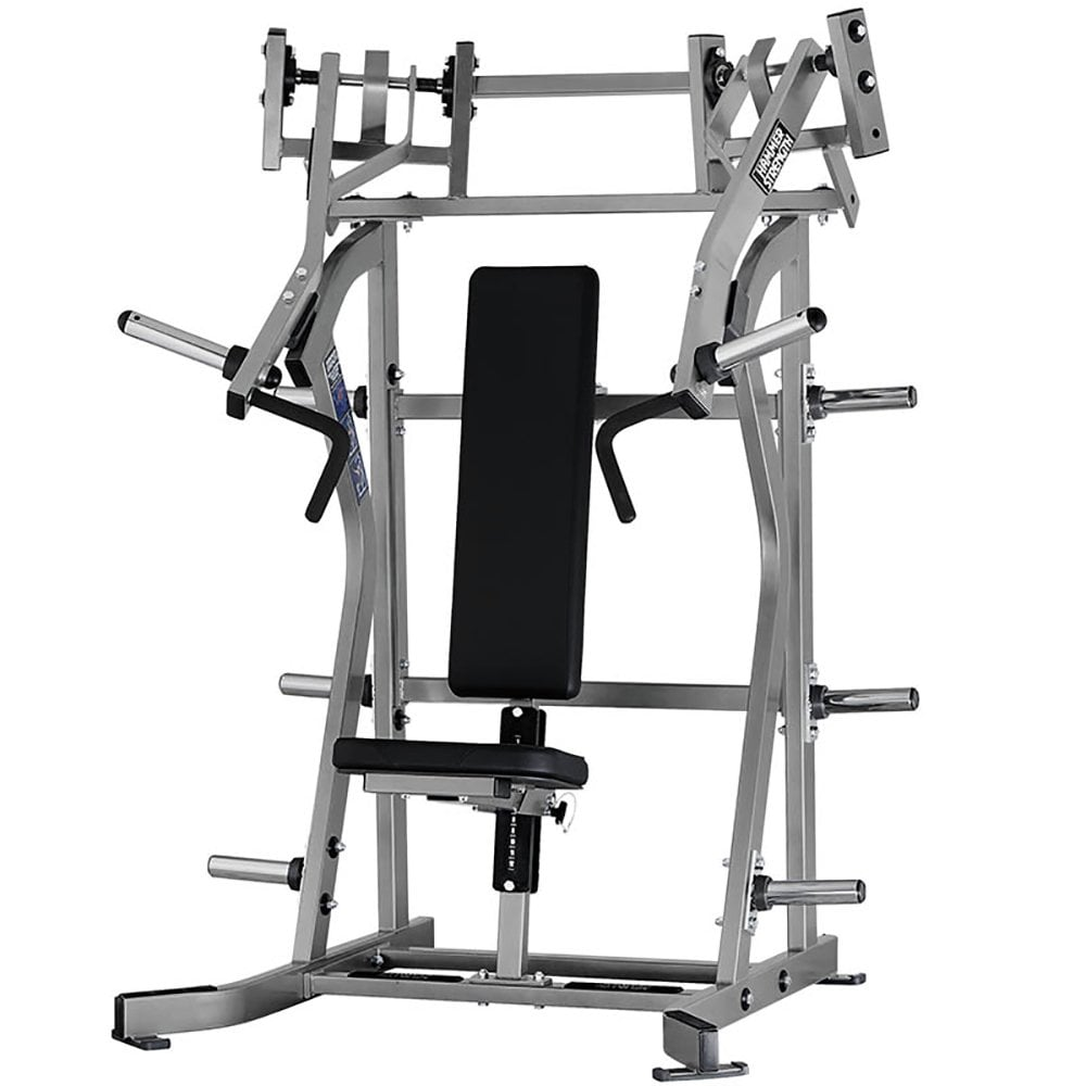 Plate-Loaded Iso-Lateral Incline Press