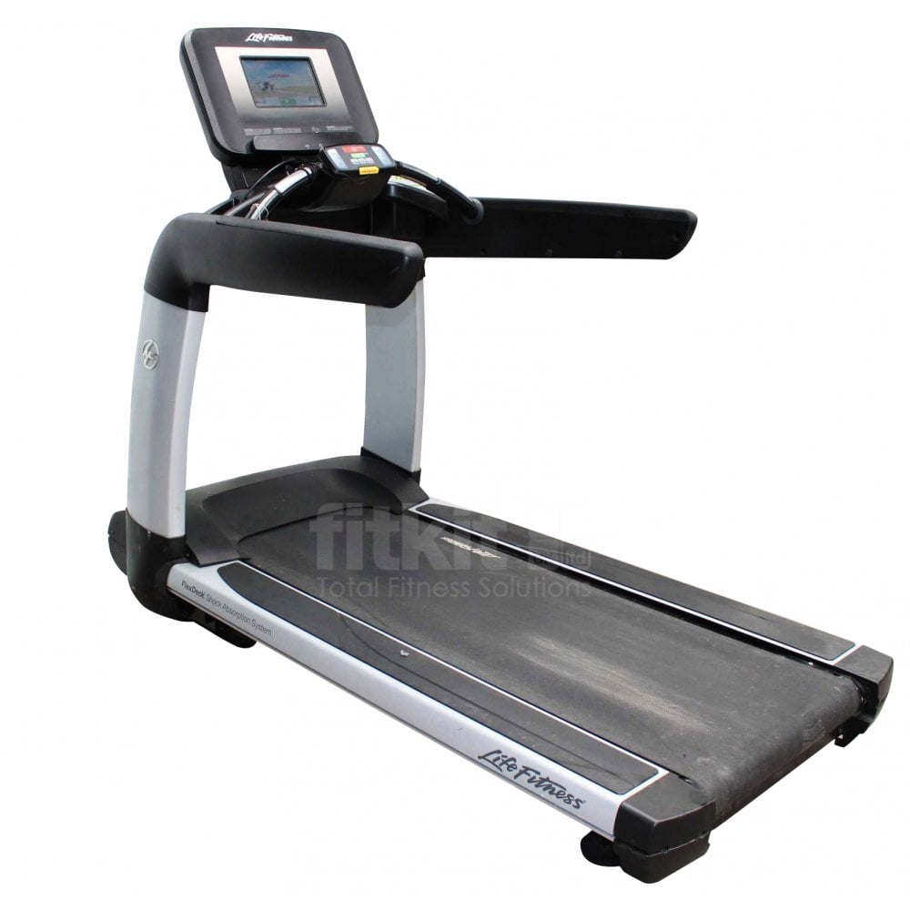 Life Fitness Treadmill Discover Si: Life Fitness 95T Elevation Series Discover SI Treadmill