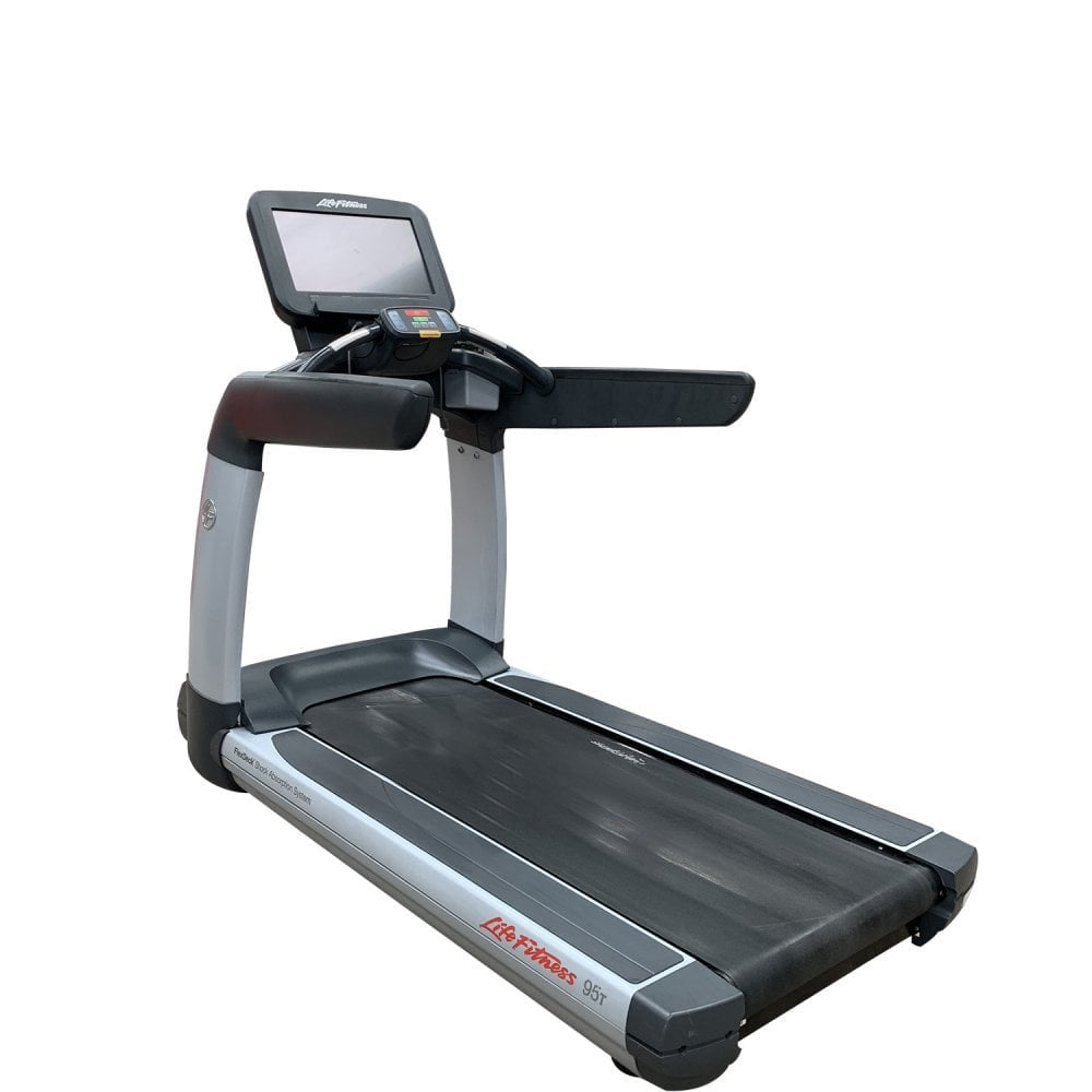 Life Fitness Treadmill Discover Si: Life Fitness 95T Elevation Series Discover SE Treadmill